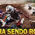 Video - ☆Trilha de Moto -  Dicas de  pilotagem na trilha com os  Roia, a moto caiu no rio, Roia Atolado