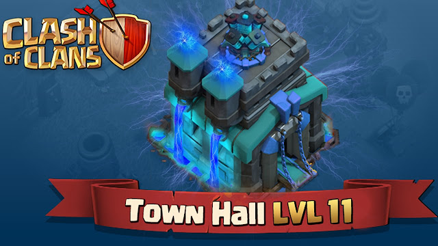 Clash Of Clans Town Hall Update