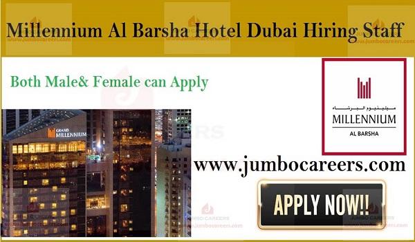 Millennium Al Barsha Hotel Dubai Latest Jobs Vacancies & Careers