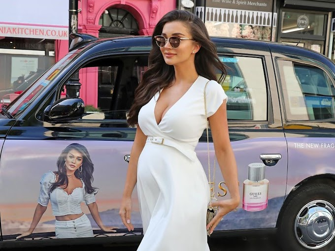 Actress Amy Jackson Pregnant Photos