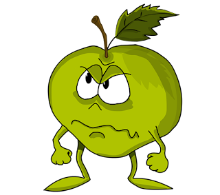 apple cartoon images - apple fruit cartoon pic