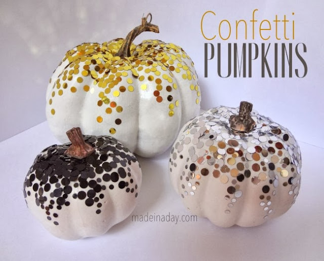 Confetti Pumpkins by Made in a Day
