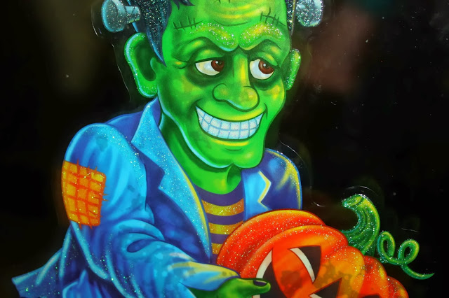 Halloween decorations frankestine