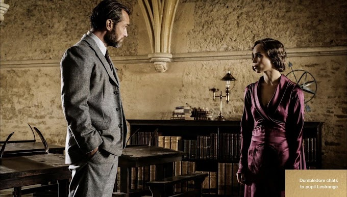 Teoria: Música em que Dumbledore cita Ariana é a mesma quando Credence libera o Obscurus