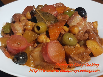 Special Pork Menudo with Olives