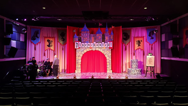 The set of Disenchanted at 3Below Theaters & Lounge