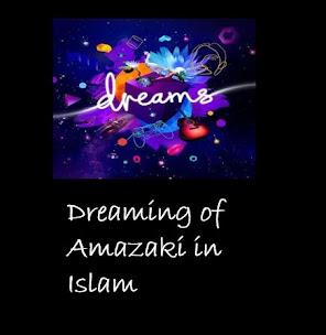Dreaming of  Amazaki Islamic Interpretation