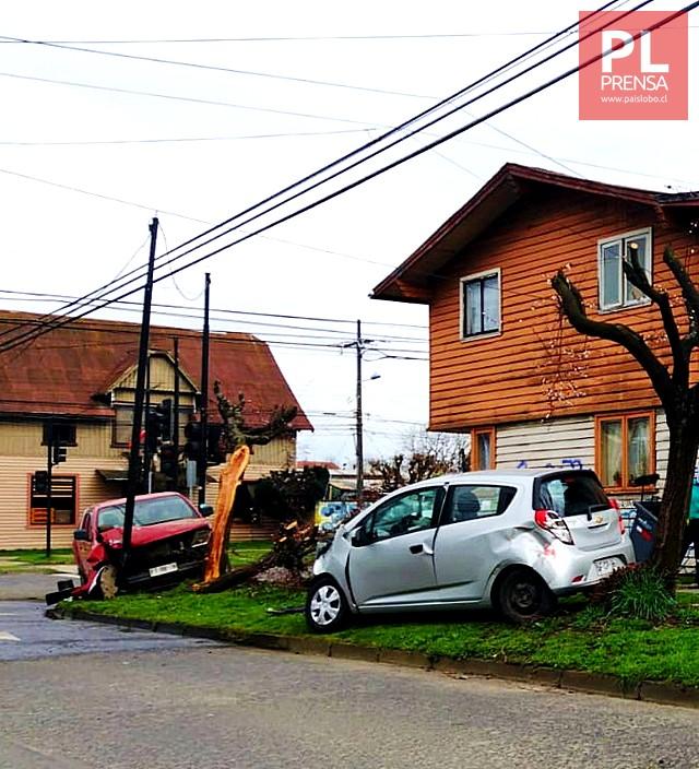 Accidente de tránsito en Osorno