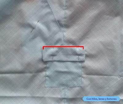 Con hilos, lanas y botones - DIY: Pantalón corto con bolsillos para niño paso a paso