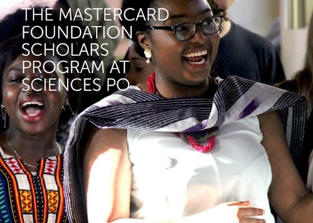 Mastercard Foundation Scholars Program at Sciences Po 2020-2021 (Fully-funded)