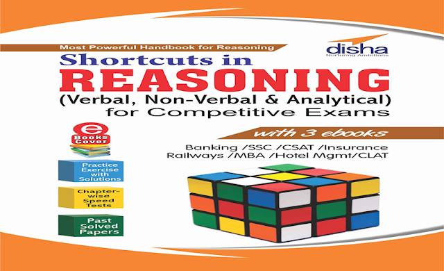 Book-PDF: Shortcuts in Reasoning by Disha Publications - SSC Officer