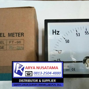 Jual Frequency / HZ Meter  Type Jarum 45-55 HZ di Sulawesi