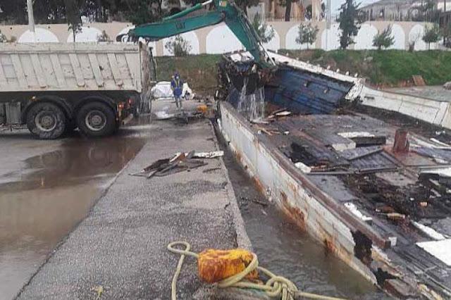 """Ενημέρωση από το Λιμενικό Ταμείο Ερμιονίδας για το """"Καπ. Αντώνης"""" και πλοίων που χρήζουν απομάκρυνσης"""