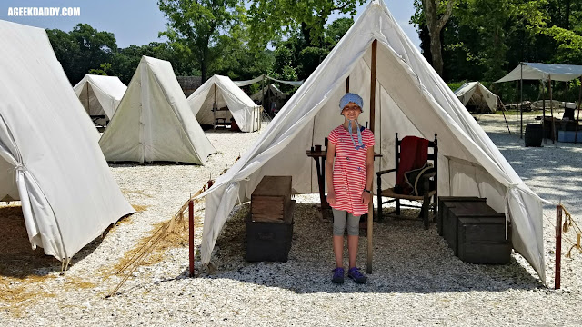 continental army encampment