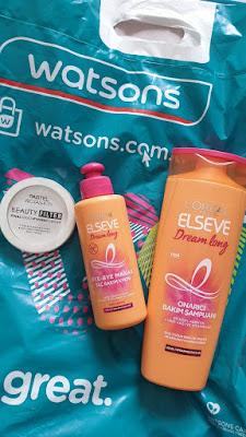 Pastel Beauty Filter Fixing Powder, Elseve Dream Long Onarıcı Şampuan ve Saç Kremi