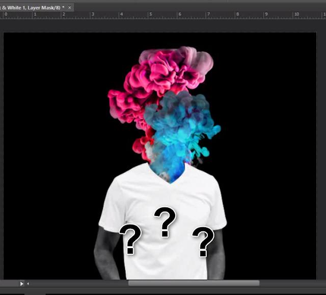Tutorial Membuat Efek Ink Smoke Head Di Photoshop