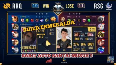 Build esmeralda RRQ Xin Tersakit