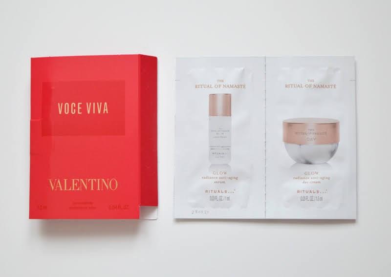 Valentino Voce Viva & Rituals Cream & Serum