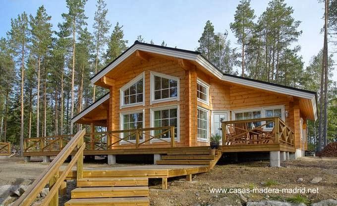 Casas prefabricadas madera casas tipo cabanas madera - Casas de madera nordicas ...