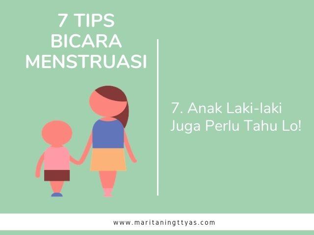 edukasi menstruasi untuk remaja pria