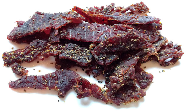 sea salt pepper honey beef jerky