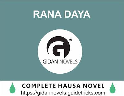 RANA DAYA COMPLETE HAUSA NOVELS