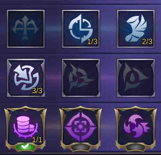 Emblem Karrie assassin mobile legends