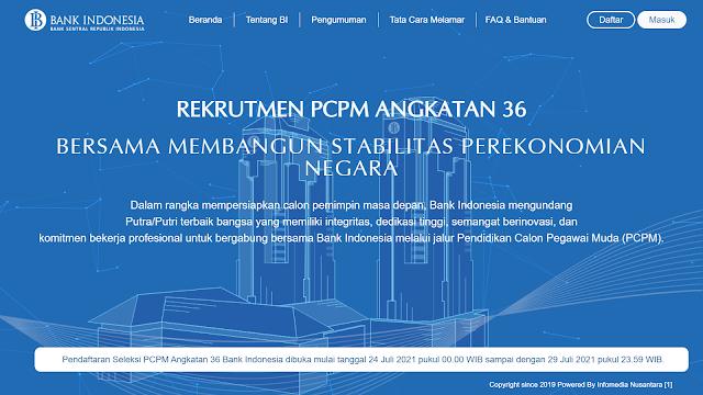 Pembukaan PCPM BI ke 36