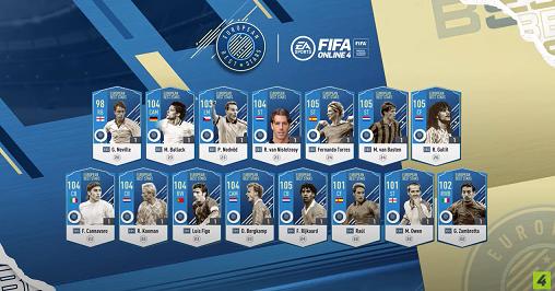 FIFA ONLINE 4 | Ngắm nhìn diện mạo cực bay của dàn siêu sao mùa thẻ EBS