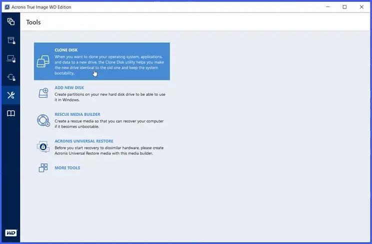 Acronis True Image WD Edition  : Η δωρεάν επαγγελματική εφαρμογή για την δημιουργία αντιγράφων ασφαλείας και κλωνοποίησης