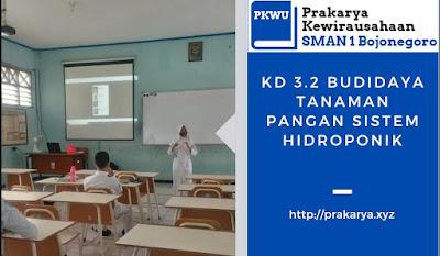 [Kelas 10] Nilai UH KD 3.2 Budidaya Tanaman Hidroponik