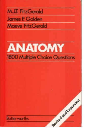 Anatomy. 1800 Multiple Choice Questions