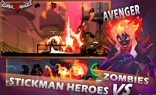 Download Zombie Avengers Stickman War Z Mod Apk 1.4.0