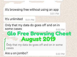 Glo 0.0 free Browsing cheat 2019