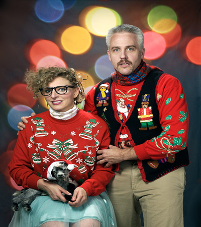 Sandiegoville Ugly Christmas Sweater Tour A Hideously Glorious