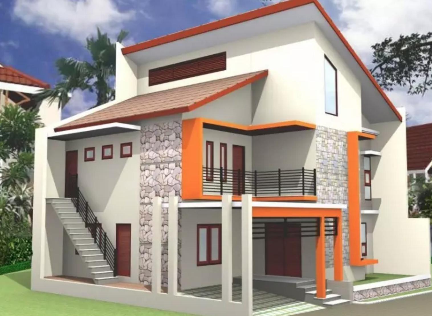 Model Gambar Atap Rumah Minimalis Sederhana Terlihat Mewah Dan Minimalis