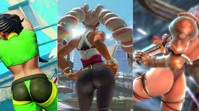 top 10 butts in fighting games