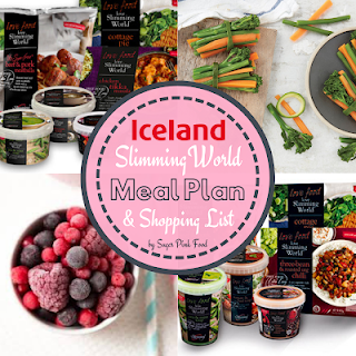 Iceland slimming world meal plan 7 day slimming world