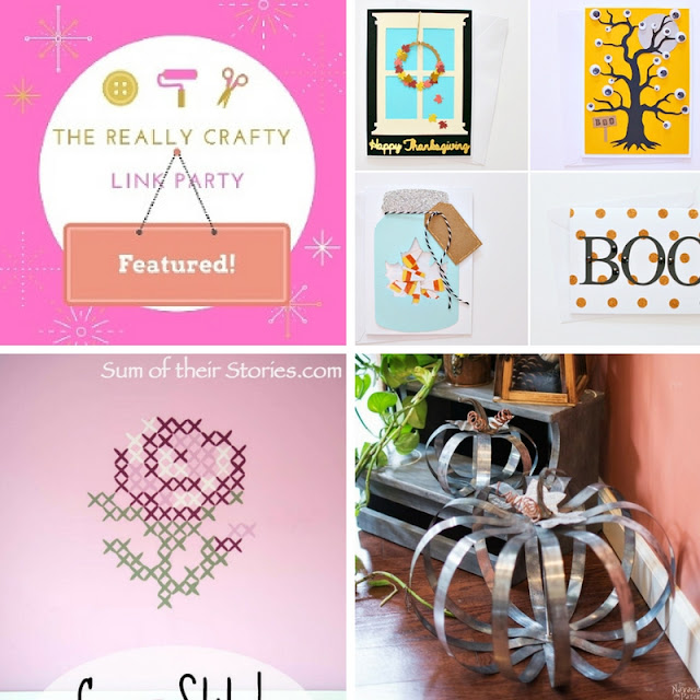 The Really Crafty Link Party #36 featured posts