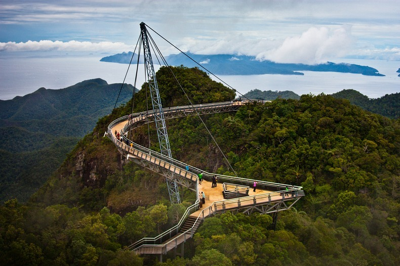 Alam Mengembang Jadi Guru: Jembatan Langit Langkawi