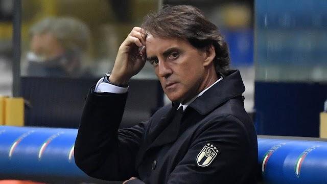 Italy head coach Mancini names new 28-man Italy squad for Euros 2020