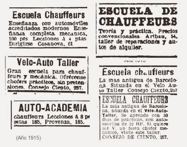 Autoescuela Turolense: HISTORIAS DE LAS AUTOESCUELAS Y DEL TRÁFICO: AQUELLAS