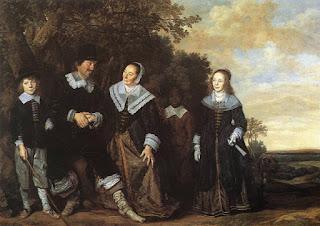 Frans Hals, семейный портрет