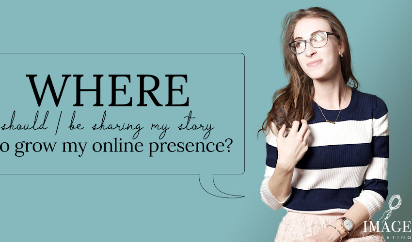 So, where should you be sharing to grow your online presence?? ⁣