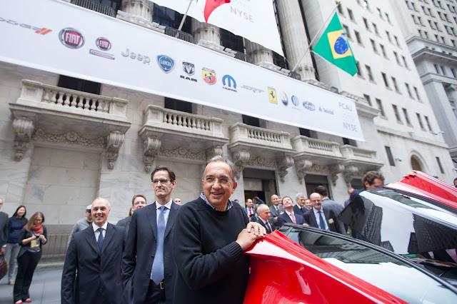Sergio Marchionne Wall Street 2014