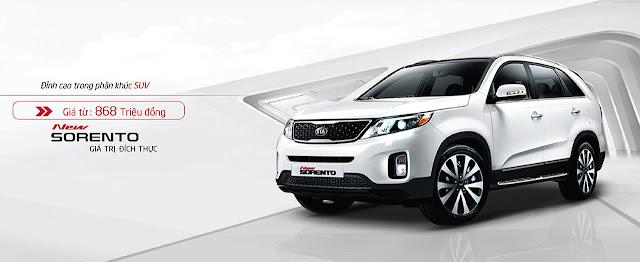 Với ngoại nội thất cải tiến và hiện đại đồng thời có thêm nhiều tính năng mới, đặc biệt là động cơ máy dầu, KIA New Sorento mạnh mẽ, đầy tính thể thao tiếp tục khẳng định phong cách đỉnh cao trong phân khúc SUV.