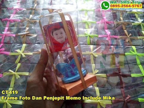 Harga Frame Foto Dan Penjepit Memo Include Mika