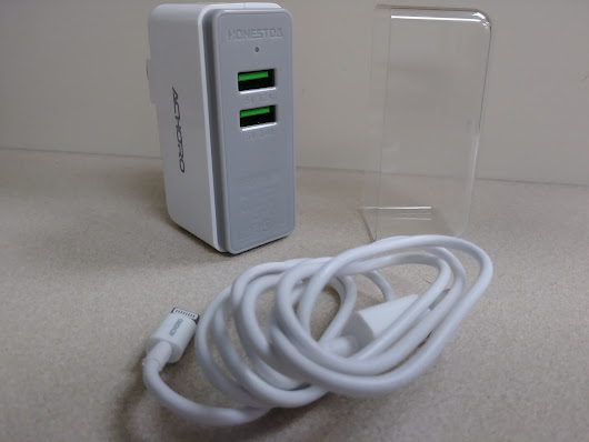Achoro - Dual USB Port Wall Charger