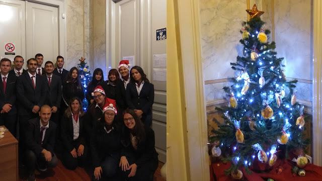 Τουριστική Σχολή: Στόλισαν Χριστουγεννιάτικο δένδρο στο Άργος με δημιουργίες ζαχαροπλαστικής