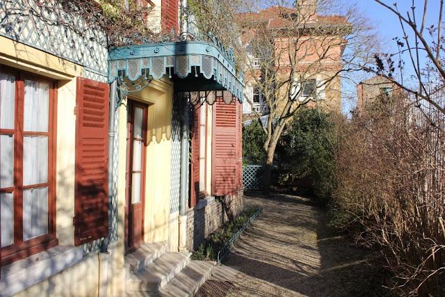 La maison des Jardies Sèvres monument historique cmn Balzac Gambetta